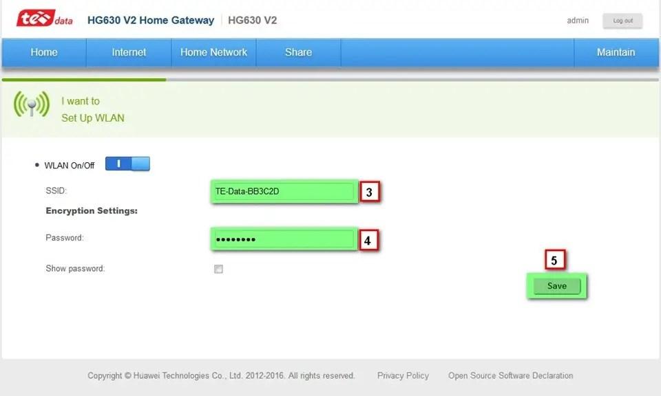 How to configure HG630 V2 Wireless 4