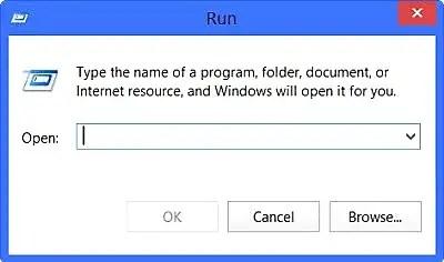 أهم 30 أمر لنافذة التشغيل RUN في الويندوز 1