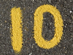 the number 10 illustrating the top 10 trends in smb cybersecurity