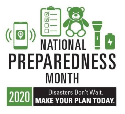 logo for National Preparedness Month 2020