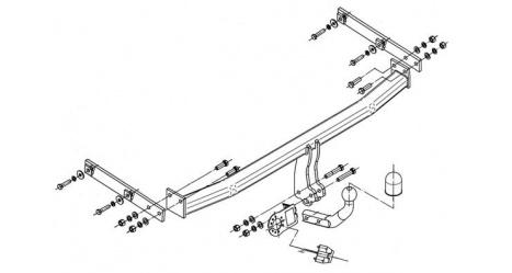 Tažné zařízení Renault Megane III. Grand Scenic r.v. 04/09