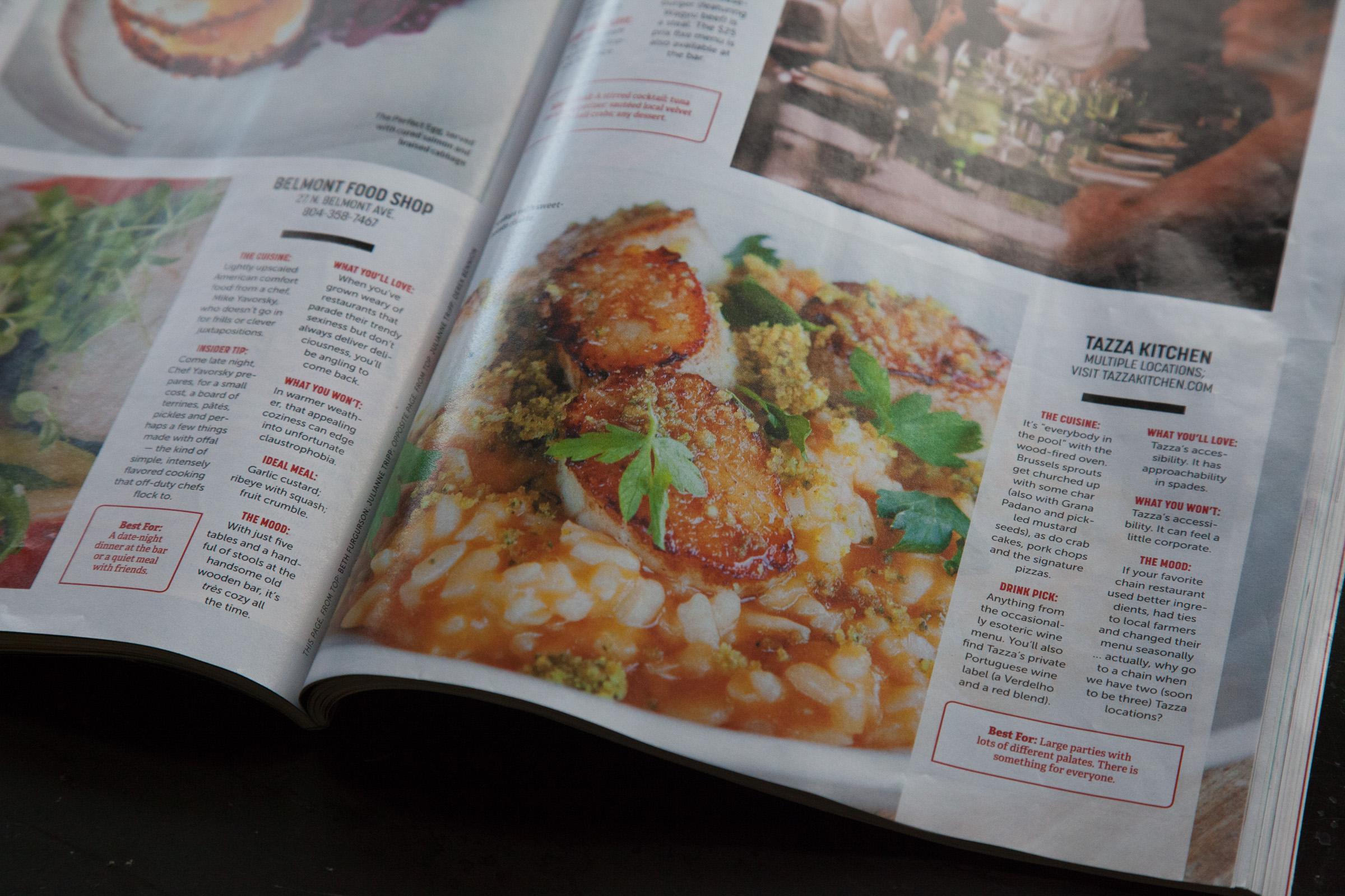 Richmond Magazine Best Restaurants Where To Eat Now