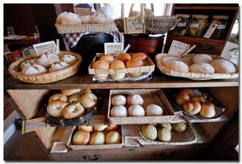 カフェ朴のパン