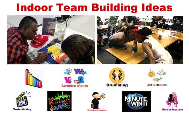 Indoor Team Building Ideas
