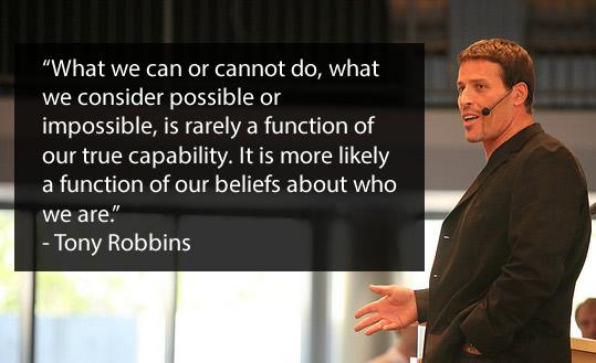 Tony Robbins Team Building-quotes