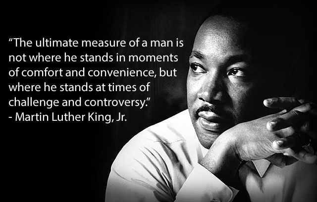 Martin Luther King Team Building Quotes