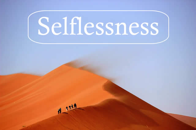 The Importance of Selflessness in Teamwork