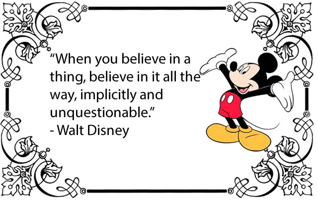 Team Building Quotes From Walt Disney