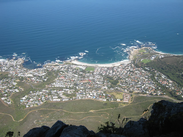 Table Mountain Abseil Extreme Team Building Events