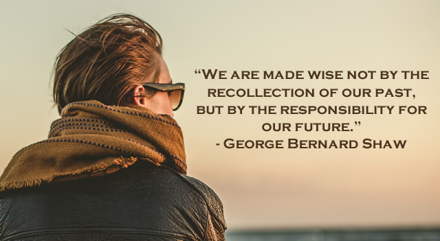 George Bernard Shaw quote on taking responsibility