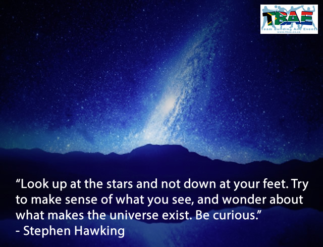 Team Building Quotes by Stephen Hawkings