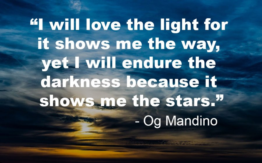 Og Mandino Team Building Quotes