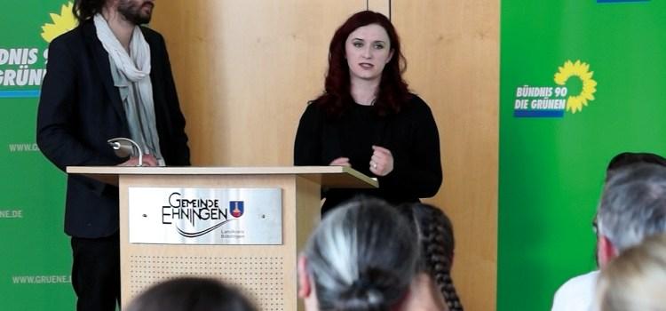 """Das Völkerrecht hat oberste Priortät"" – Brugger MdB in Ehningen"