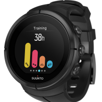 Suunto Spartan Ultra All Black Titanium Perspective