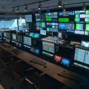 Broadcast Master Control Console