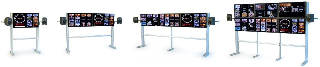 TracWall Monitor Stands