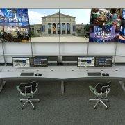 Security Surveillance Control Room