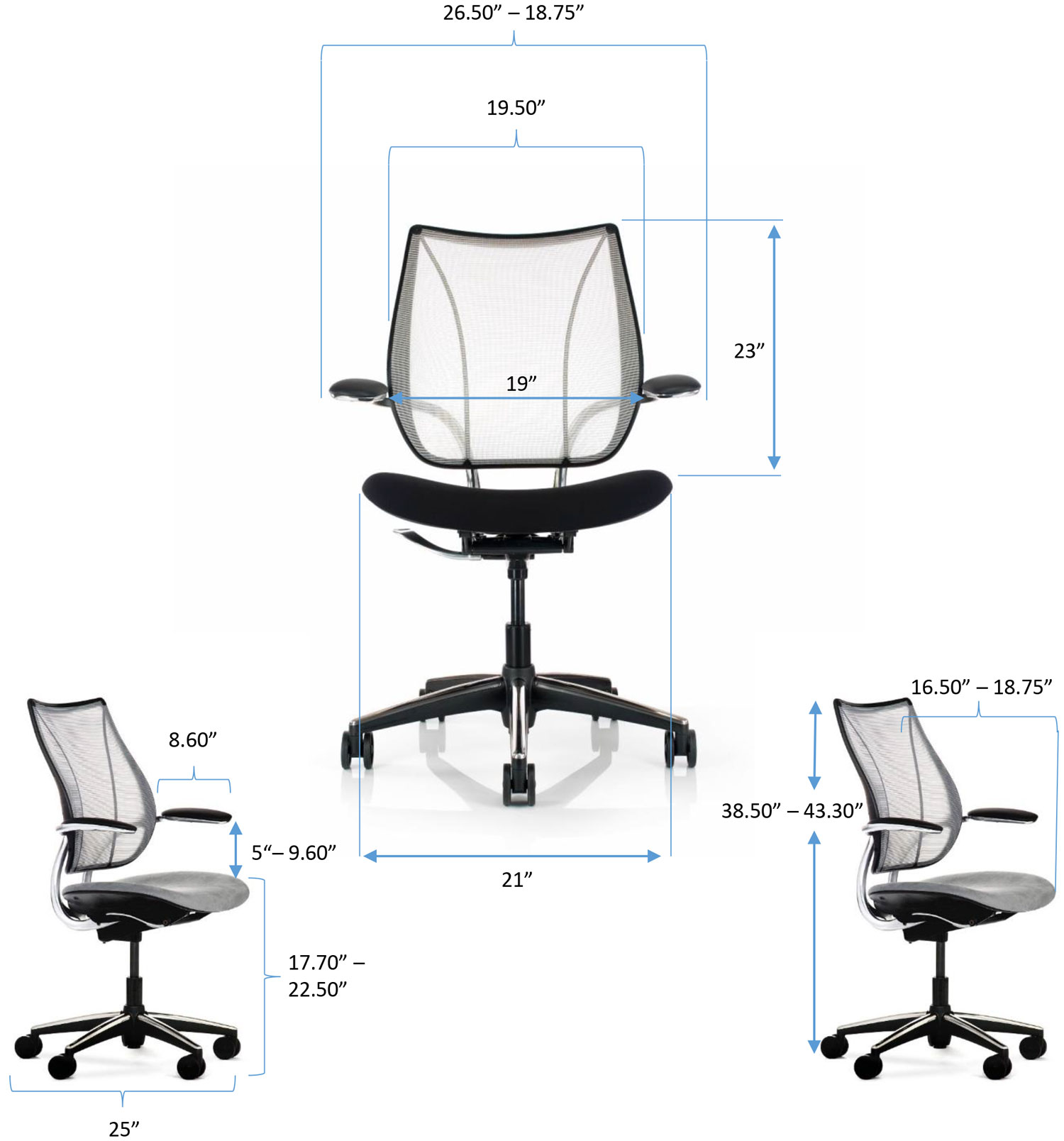 Liberty Chair Specs