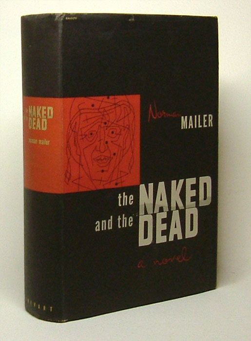 THE NAKED AND THE DEAD  Norman Mailer  1st Edition