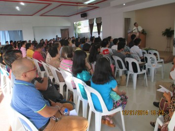 More than 200 church members and visitors joined in celebrating the TBC's 32nd Anniversary service.