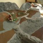 Grundierung des Rambergmassiv bei Waldesruh