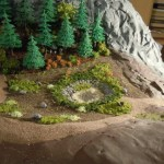 Begrünung am Waldweiher am Ramberg