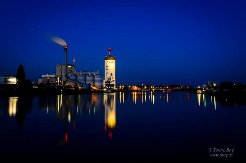 Die Fotografie in meinem Leben - am Weserwehr in Bremen