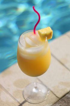 Fruchtig-frischer Cocktail namens Solero