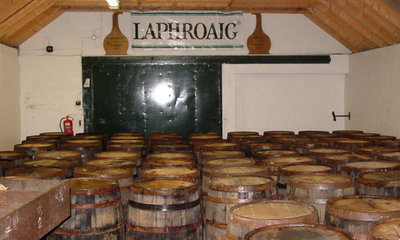 Laphroaig - Ein Einblick ins Lager