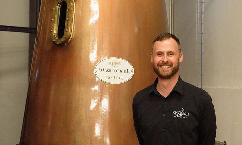 Master Distiller Mario Rudolf