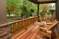 An array of decking materials offer different advantages ...