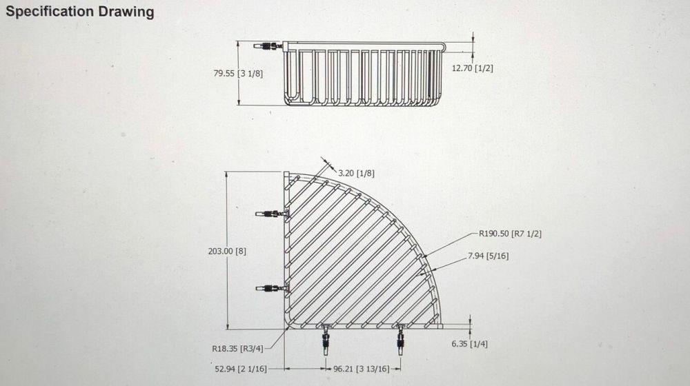 medium resolution of  samuel heath deep extra large corner shower basket additional 3