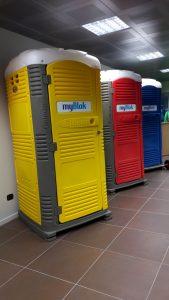 Show room Poggibonsi portable toilets