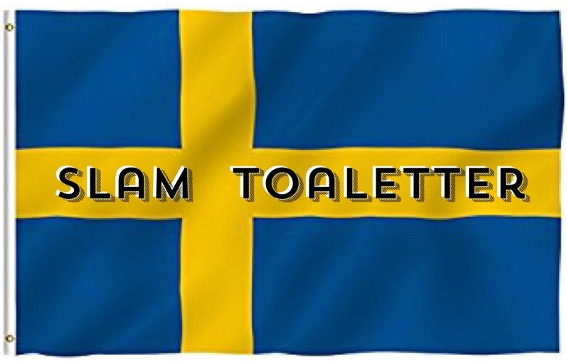 Sweden Slam Toaletter