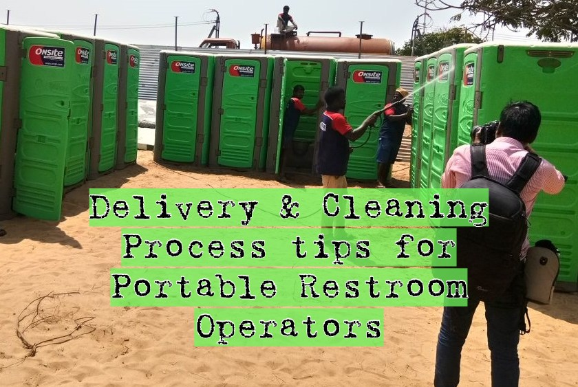 Portable Toilets servicing & delivery tips