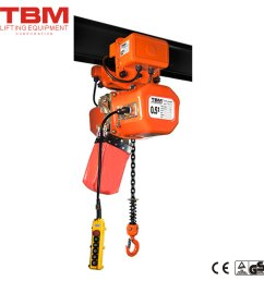 hhxg am electric chain hoist with trolley [ 1000 x 1000 Pixel ]