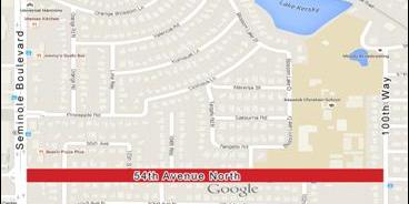 54th Avenue N \ Sewer Leak | Road Closed