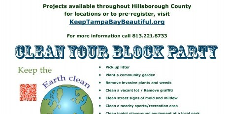 Great American Cleanup | HIllsborough | Clean Up Tampa Bay
