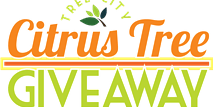 Tree Giveaway Logo | Belleair | Citrus Tree Logo