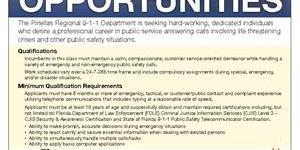 Job Fair | Pinellas Job | Pinellas 911