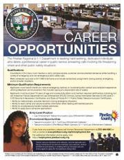 Pinellas Sets 9-1-1 Job Fair