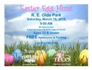 The Easter Bunny Comes to Oldsmar