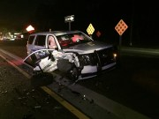 Temple Terrace Officer Hurt in Head-On, Wrong-Way Crash