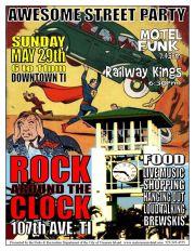 Rock Around the Clock in Treasure Island