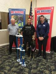Tarpon Springs Police Dog Is No. 1 in the U.S.