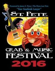 Crab & Music Festival is Saturday in St. Pete's Vinoy Park