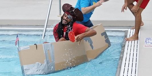 Cardboard boat | Pasco County | Cardboard Boat Race