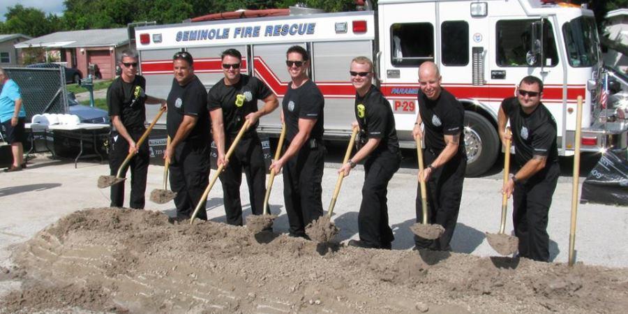 Ground-Breaking Fire Station 32   Seminole   Fire Rescue