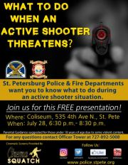 St. Petersburg Offers Active Shooter Training