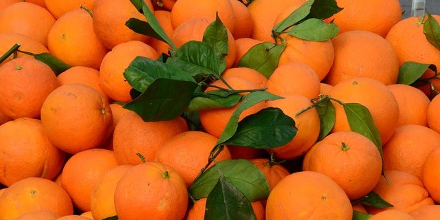 Farmers Market | Green Market | Oranges